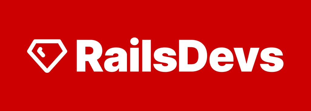 rails-devs logo and wordmark