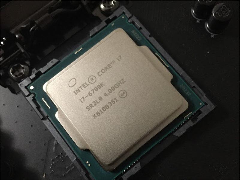 Computer build 4