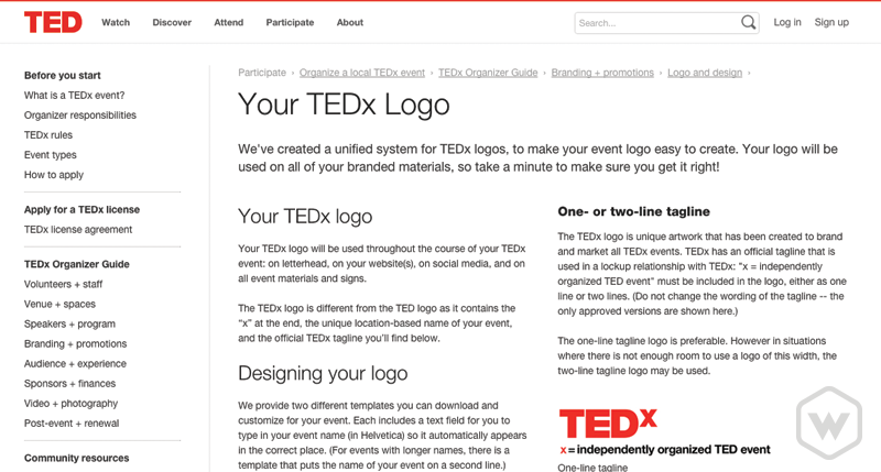 TEDx Brand Guidelines