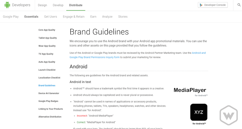 android-developer-guidelines