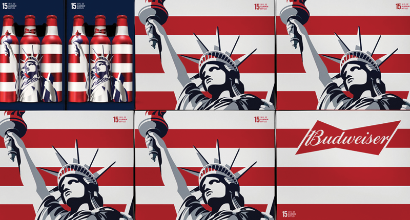 Budweiser Liberty packaging