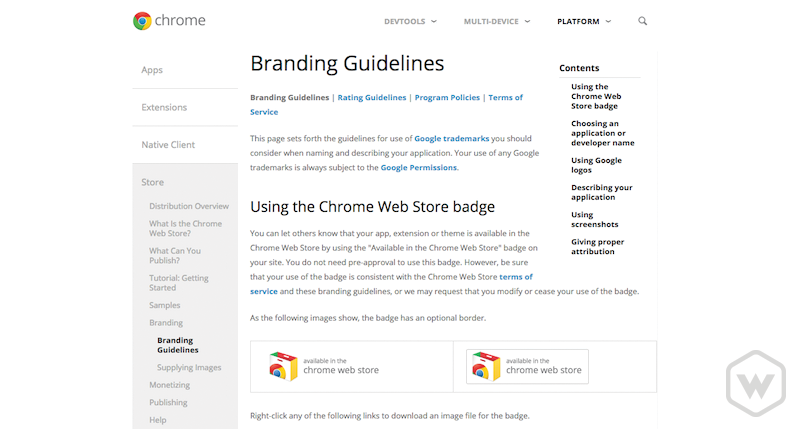 chrome-webstore-branding-guidelines