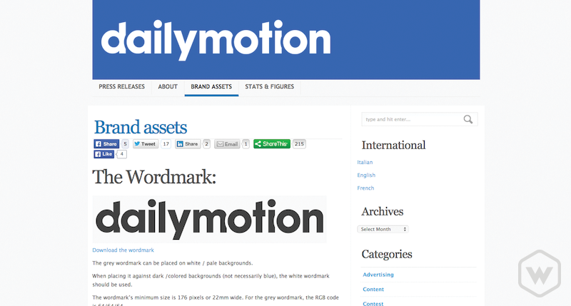 dailymotion brand assets