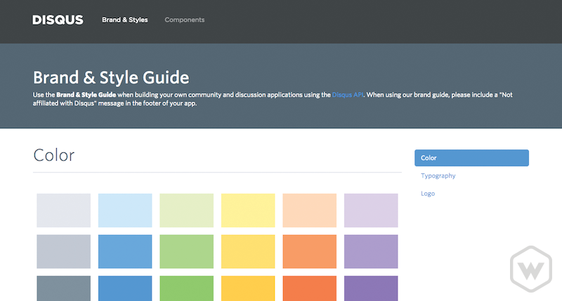 Disqus brand and style guide