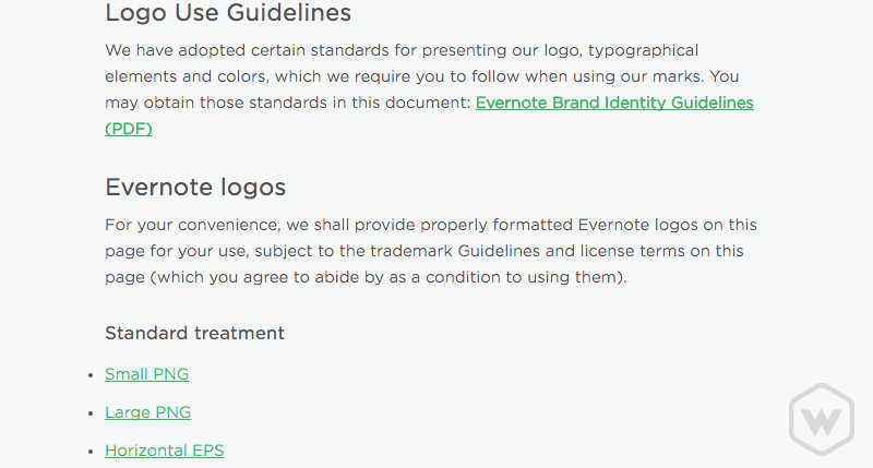 evernote brand guidelines