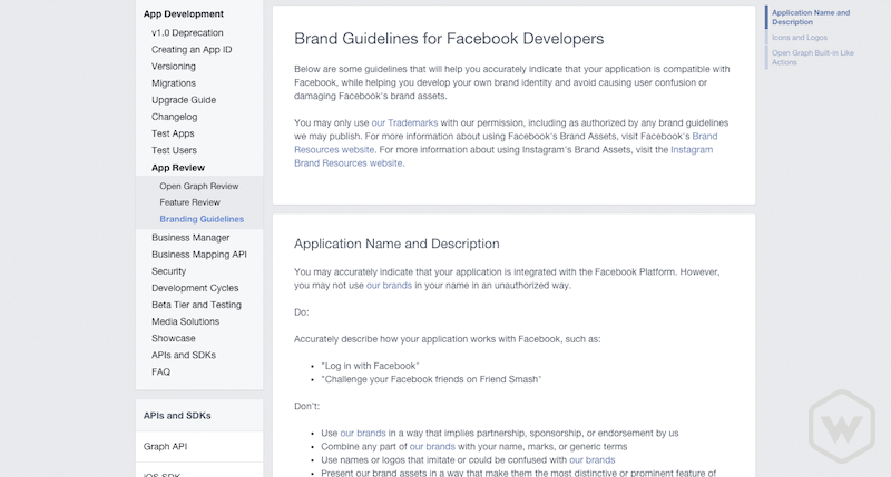 facebook-developer-branding-guidelines