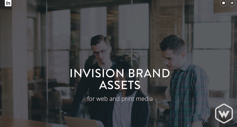 invision brand assets