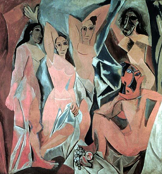 Les Demoiselles d'Avignon - 1907