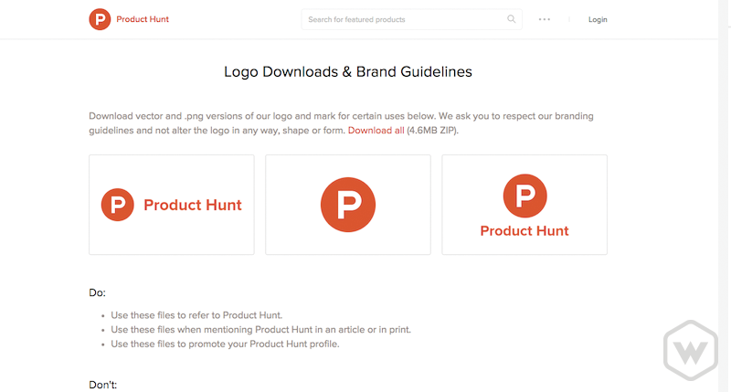 Product Hunt Branding