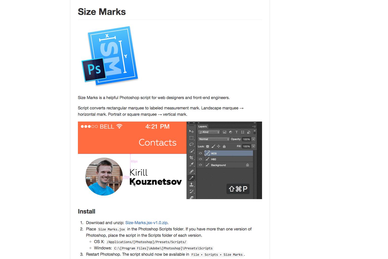 sizemarks | web-crunch.com
