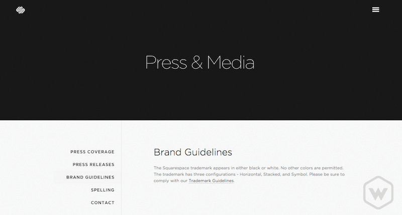 squarespace brand guidelines