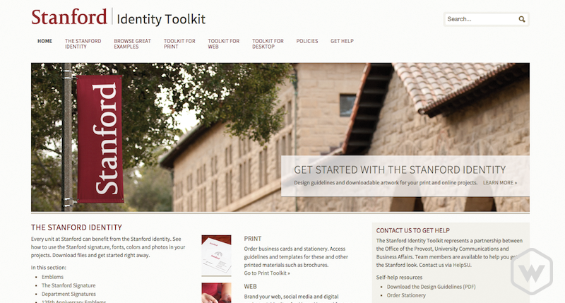 stanford identity toolkit
