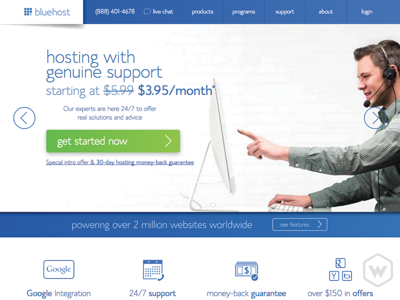 Login to your webhost