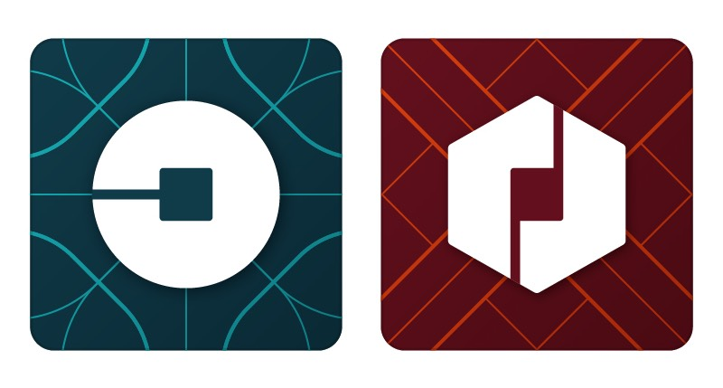 uber application icons