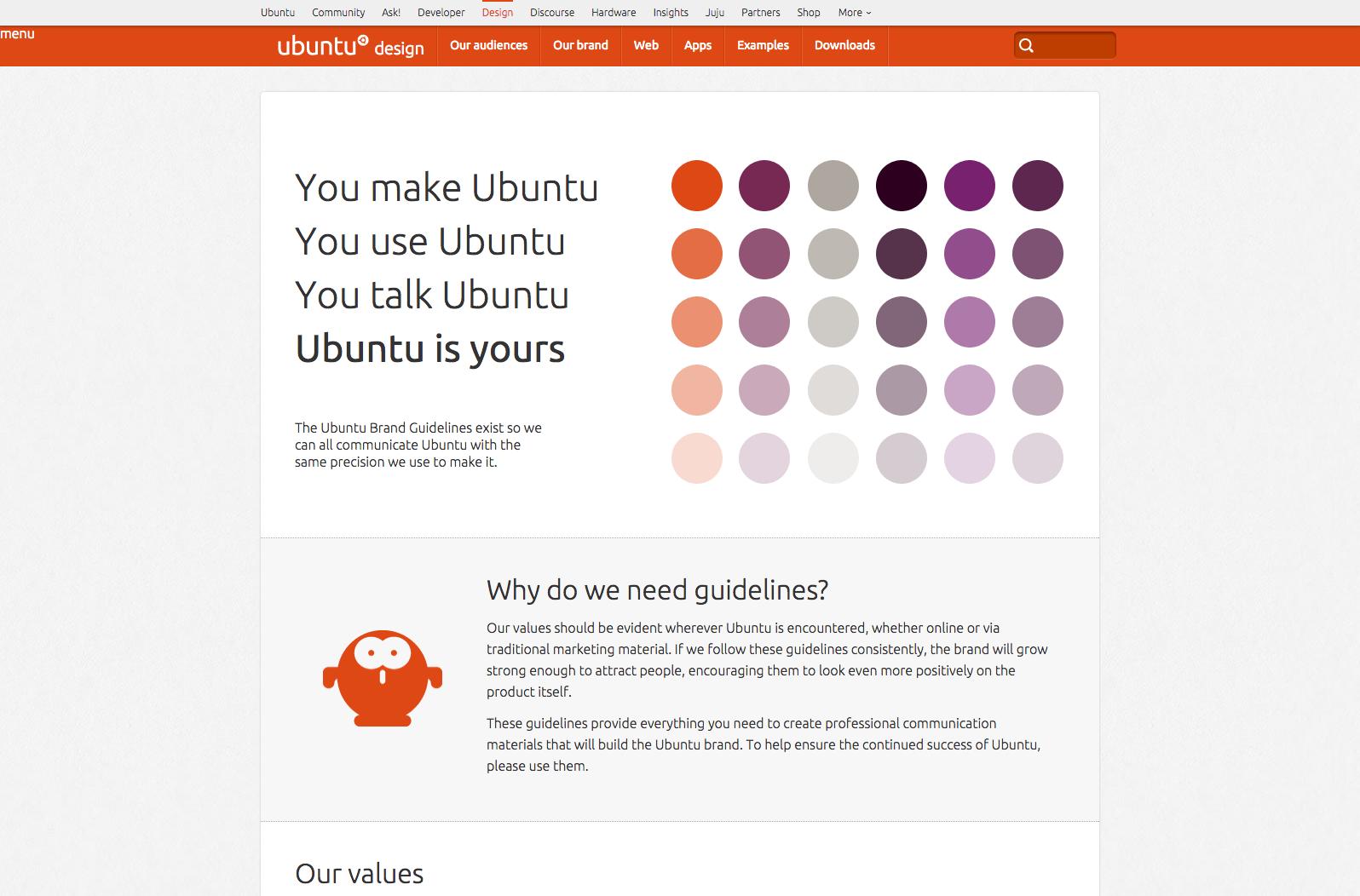ubuntu-guidelines | web-crunch.com