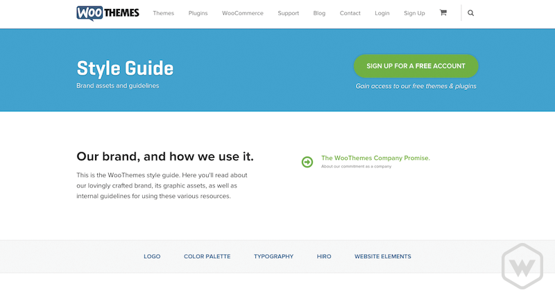 Woo Themes Style Guide