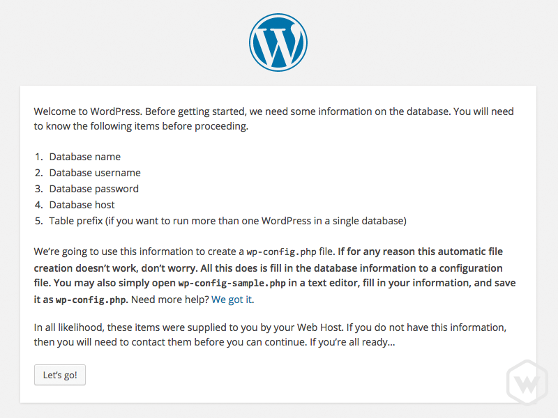 wordpress-config-step2